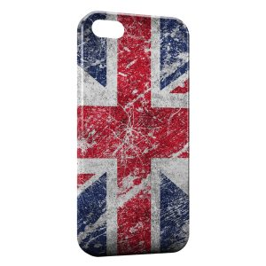 Coque iPhone 5C British Drapeau Anglais