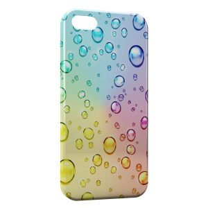 Coque iPhone 5C Bulles Multicolor