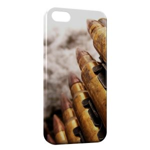 Coque iPhone 5C Bullets Gun