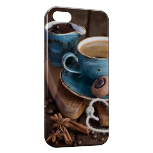 Coque iPhone 5C Café