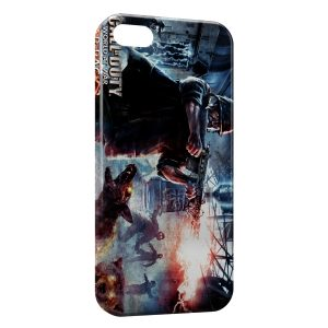 Coque iPhone 5C Call Of Duty World At War Zombie Dog Nazi