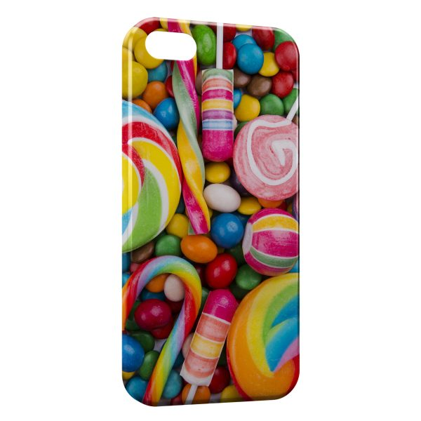 Coque iPhone 5C Candy Gourmandises & Bonbons