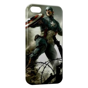 Coque iPhone 5C Captain America 2