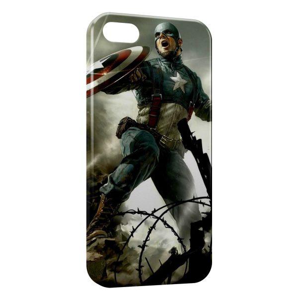 Coque iPhone 5C Captain America 2