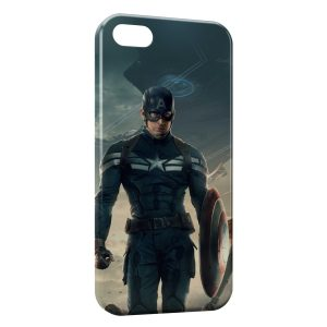Coque iPhone 5C Captain America 6