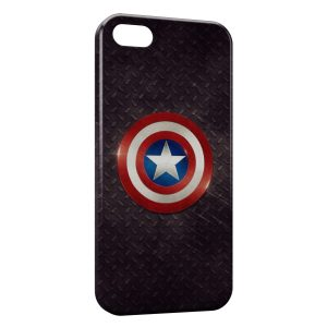 Coque iPhone 5C Captain America Bouclier 2