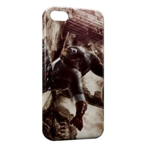 Coque iPhone 5C Captain America Vintage