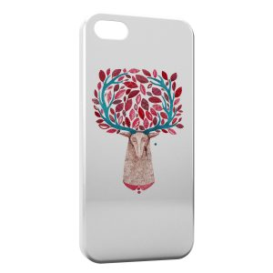 Coque iPhone 5C Cerf Design