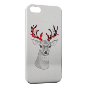 Coque iPhone 5C Cerf Style Design