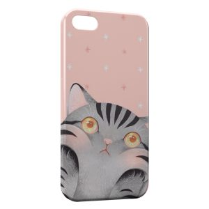 Coque iPhone 5C Chat Mignon Cute