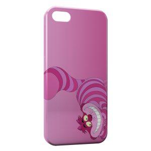 Coque iPhone 5C Chat de Cheshire Alice au pays des merveilles 2
