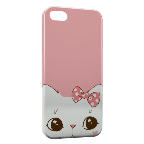 Coque iPhone 5C Chaton Mignon