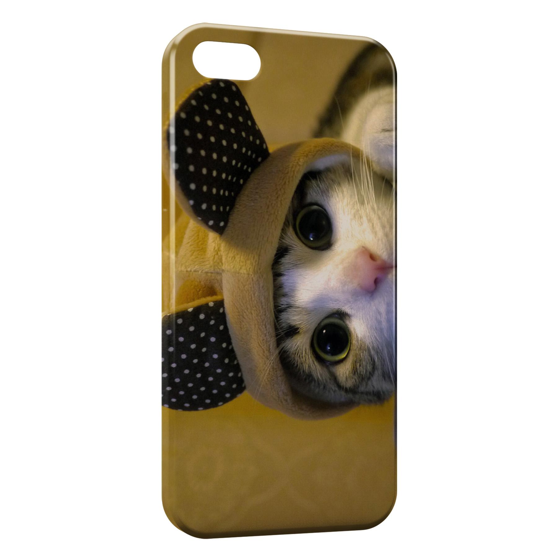 Coque iPhone 5C Chaton