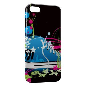 Coque iPhone 5C Chaussure Design Style