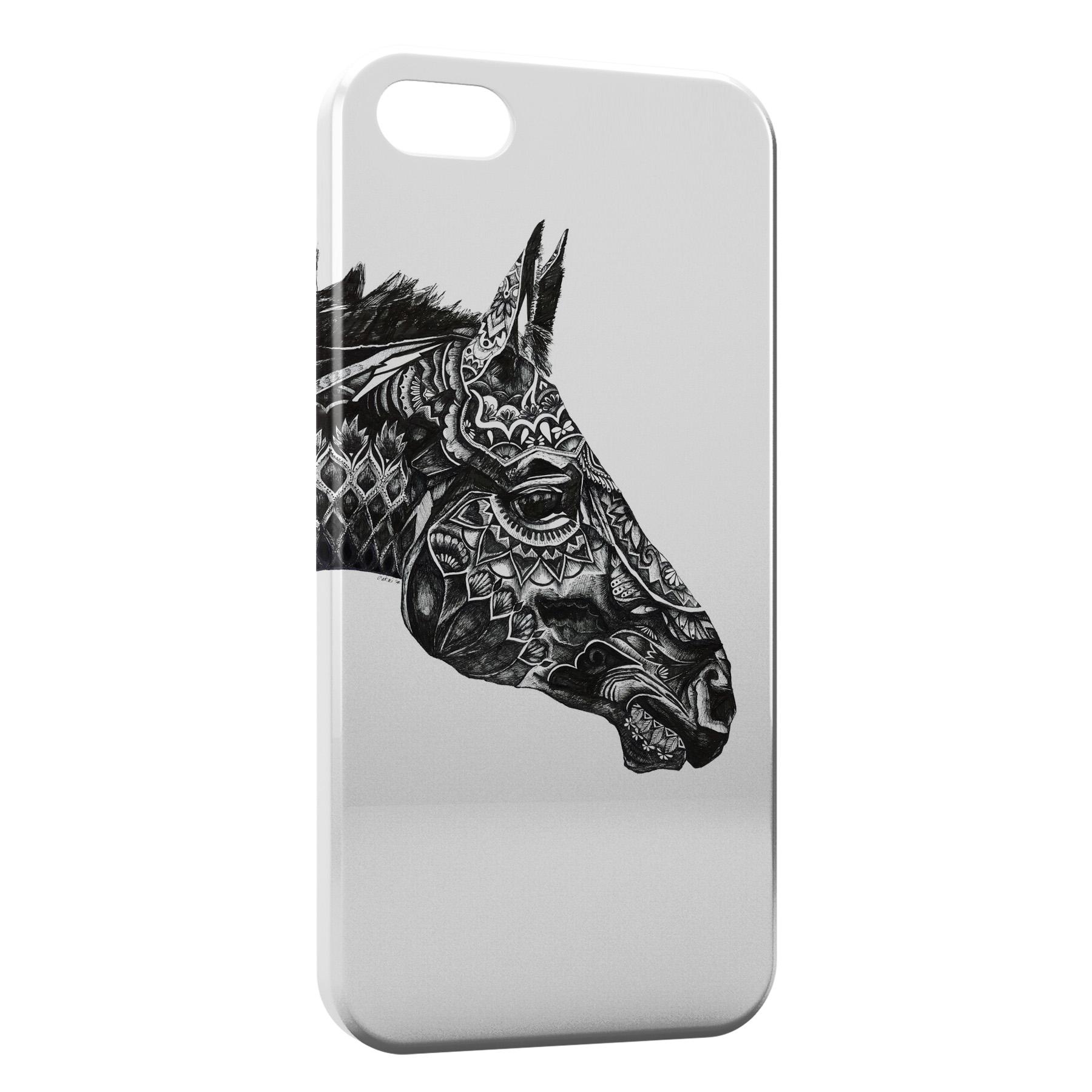 Coque iPhone 5C Cheval Design