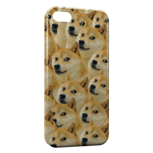 Coque iPhone 5C Chien Shiba