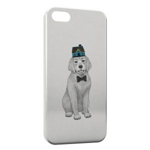 Coque iPhone 5C Chien Style Design