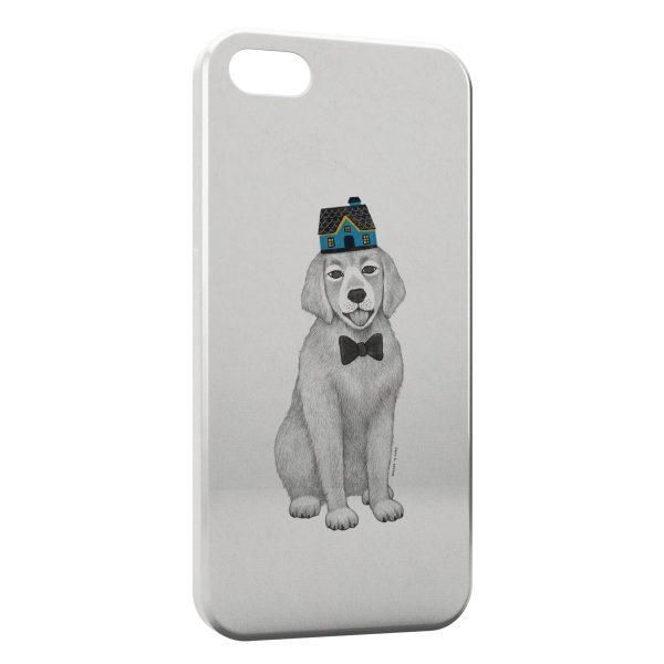Coque iPhone 5C Chien Style Design