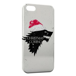 Coque iPhone 5C Christmas is Coming Game of Thrones