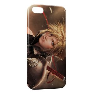 Coque iPhone 5C Cloud Strife - Final Fantasy