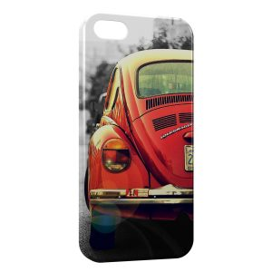 Coque iPhone 5C Coccinelle Voiture Vintage