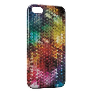 Coque iPhone 5C Colorful Design Graphic