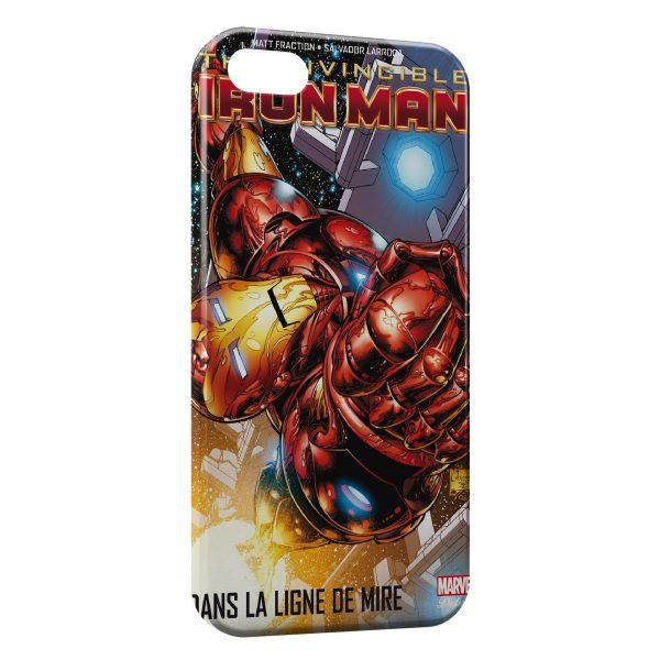 Coque iPhone 5C Comics Iron Man