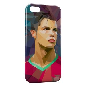 Coque iPhone 5C Cristiano Ronaldo Art Design