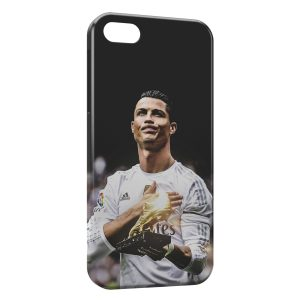 Coque iPhone 5C Cristiano Ronaldo Football 21