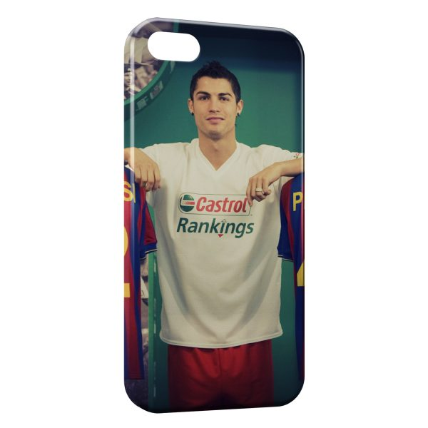 Coque iPhone 5C Cristiano Ronaldo Football 32