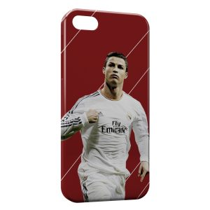 Coque iPhone 5C Cristiano Ronaldo Football 33