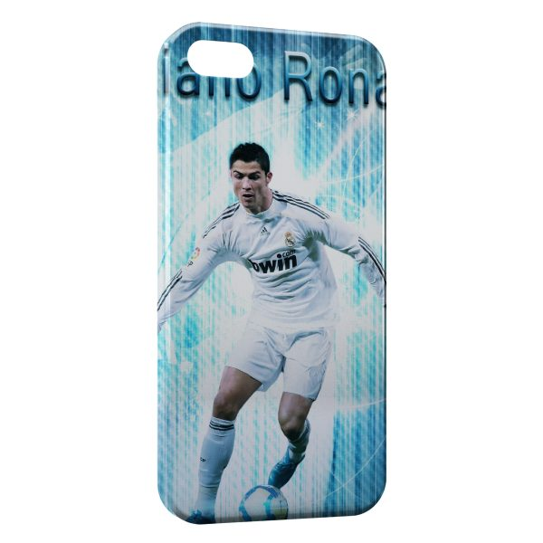 Coque iPhone 5C Cristiano Ronaldo Football 44