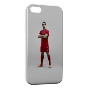 Coque iPhone 5C Cristiano Ronaldo Football 48