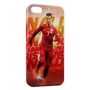 Coque iPhone 5C Cristiano Ronaldo Football 53