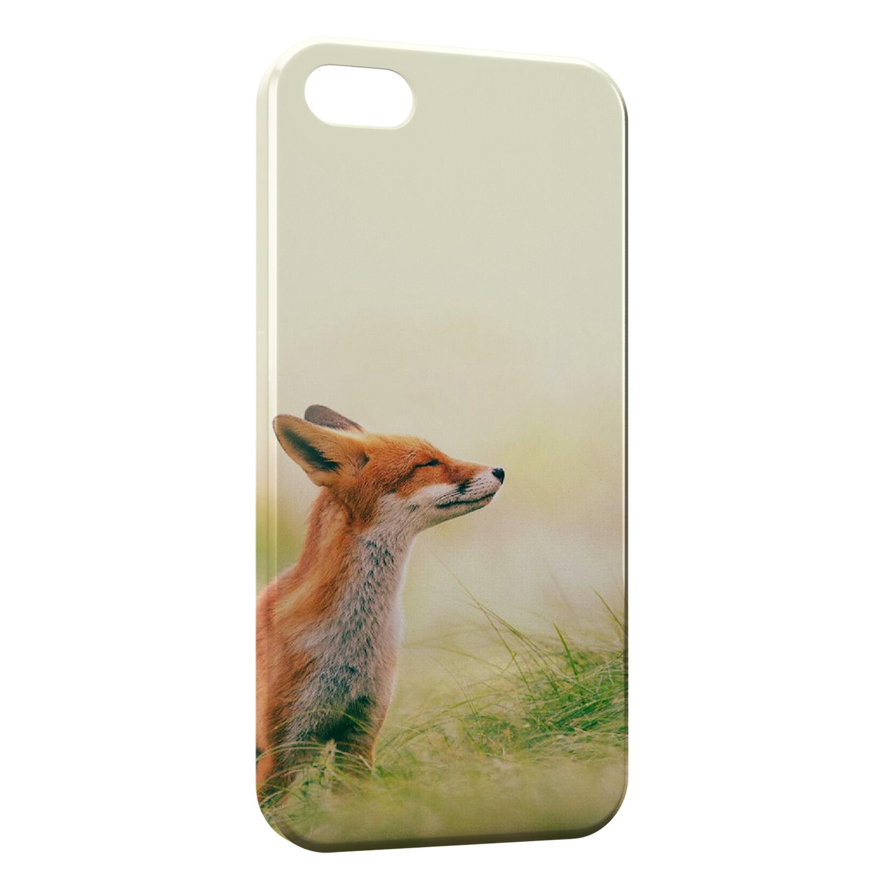 Coque iPhone 5C Cute Fox Renard 4
