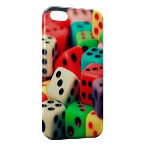 Coque iPhone 5C Dès Couleurs Style