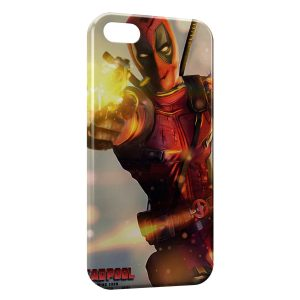 Coque iPhone 5C Deadpool Gun