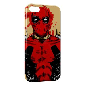 Coque iPhone 5C Deadpool Vintage Art