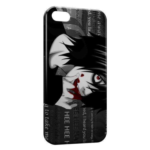 Coque iPhone 5C Death Note 2 600x600