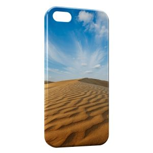Coque iPhone 5C Desert Paysage