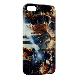Coque iPhone 5C Doctor Who & Amy Pond
