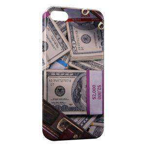 Coque iPhone 5C Dollars Billets