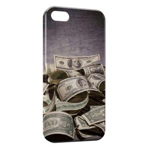 Coque iPhone 5C Dollars Style
