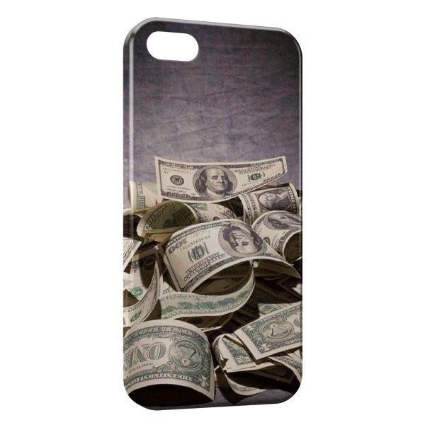 Coque iPhone 5C Dollars Style