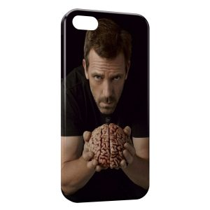 Coque iPhone 5C Dr House Brain