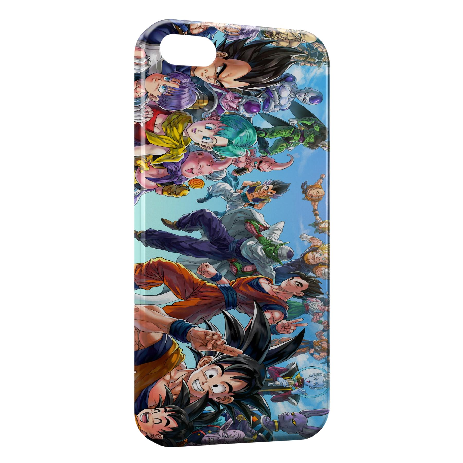 Coque iPhone 5C Dragon Ball Z Fashion Group
