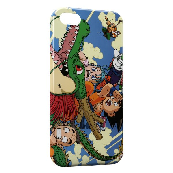 Coque iPhone 5C Dragon Ball Z Group 3 600x600