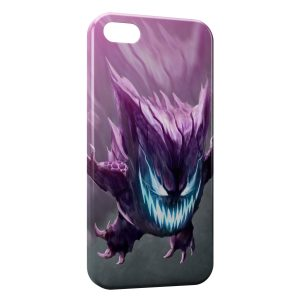 Coque iPhone 5C Ectoplasma Pokemon Design Graphic