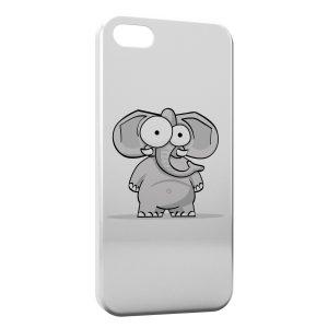 Coque iPhone 5C Eléphanteau