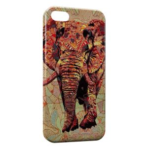 Coque iPhone 5C Elephant Design Style 3